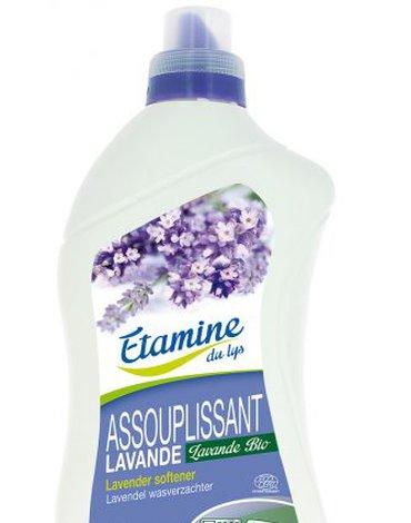 Etamine du Lys, Płyn Zmiękczający do Płukania Tkanin Organiczna Lawenda, 1000 ml