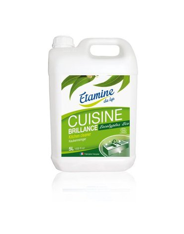Etamine du Lys, Spray do Czyszczenia Kuchni 3 w 1 Organiczny Eukaliptus Uzupełnienie Kanister, 5000 ml