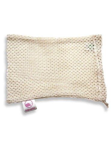 Bag-again, Siatka z organicznej bawełny na owoce i warzywa S, 15 x 25 cm