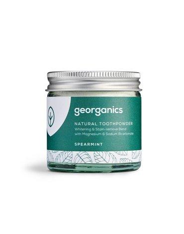 Georganics, Proszek do czyszczenia zębów, Spearmint, 60 ml