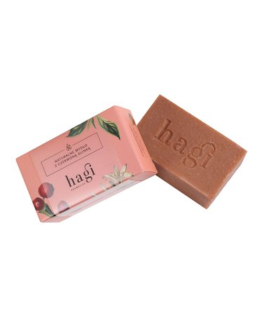 Hagi, Naturalne mydło z czerwoną glinką, 100g