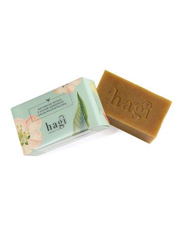 Hagi, Naturalne mydło z olejem konopnym i gałką muszkatołową, 100g