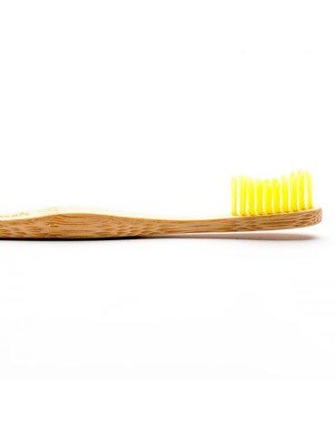 Humble Brush, Bambusowa szczoteczka do zębów, Soft, żółta