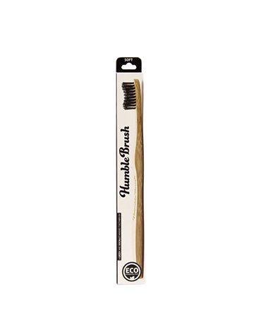 Humble Brush, Bambusowa szczoteczka do zębów, Soft, czarna