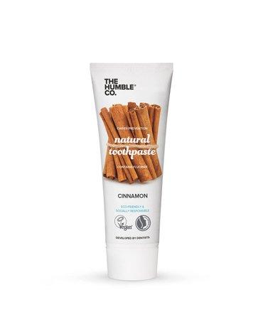 Humble Brush, Naturalna pasta do zębów z cynamonem, fluorem, CINNAMON, 75ml
