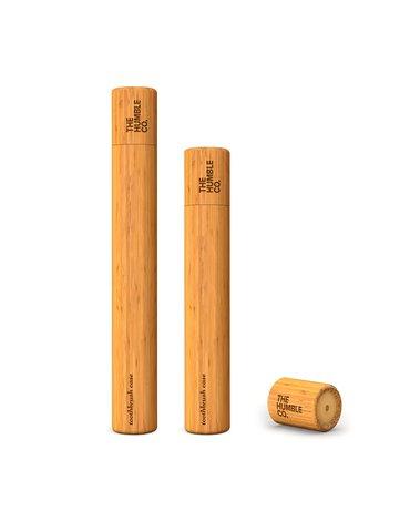 Humble brush, Etui na szczoteczkę do zębów z drzewna bambusowego, KIDS, dla dzieci