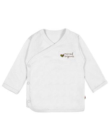 Nanaf Organic, BASIC, Kaftanik kimono, biały