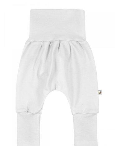 Nanaf Organic, BASIC, Spodnie pumpy, regulowany rozmiar, białe