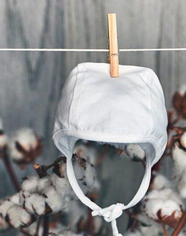 Nanaf Organic, BASIC, Czapka kąpielowa, biała
