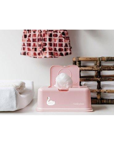 Funkybox - Pojemnik na Chusteczki, Pink Swan