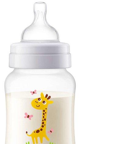 AVENT SCF821/12 Butelka antykolkowa 260 ml żyrafa