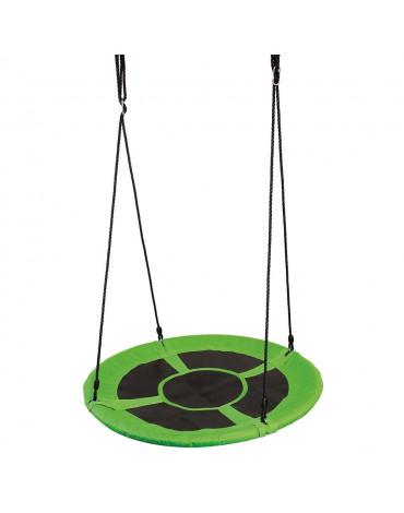 Bino - Huśtawka zielone gniazdo 150 kg z CE