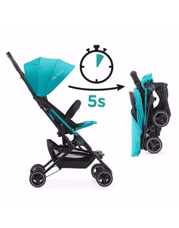 Kinderkraft Wózek Spacerowy MINI DOT Turquoise