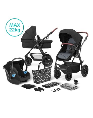 Kinderkraft wózek wielofunkcyjny 3w1 XMOOV black