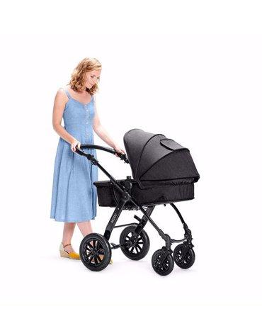 Kinderkraft Wózek Wielofunkcyjny 3w1 MOOV Black