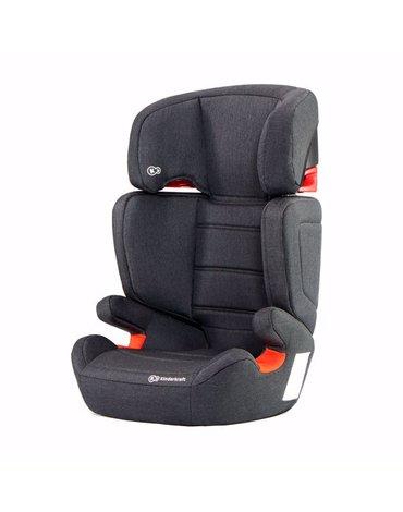 Kinderkraft Fotelik Samochodowy Junior Fix Z Systemem ISOFIX Black