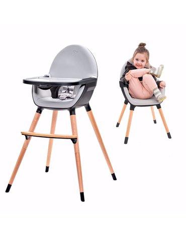 Kinderkraft krzesełko do karmienia FINI black