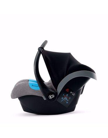 Kinderkraft Fotelik Samochodowy - Nosidełko MINK Gray Melange
