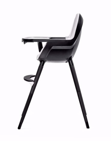 Kinderkraft krzesełko do karmienia FINI full black