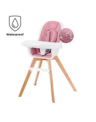 Kinderkraft krzesełko do karmienia TIXI pink