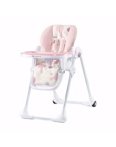 Kinderkraft Krzesełko Do Karmienia YUMMY Pink