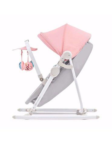 Kinderkraft Leżaczek 5w1 UNIMO Pink