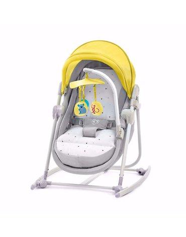 Kinderkraft Leżaczek 5w1 UNIMO Yellow