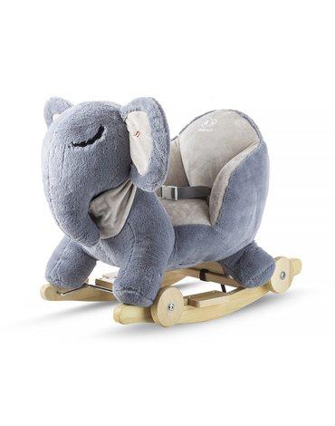 Kinderkraft SŁONIK na biegunach z funkcją jeździka grey