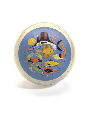 Djeco - Piłka gumowa OCEAN średnica 22cm DJ00161