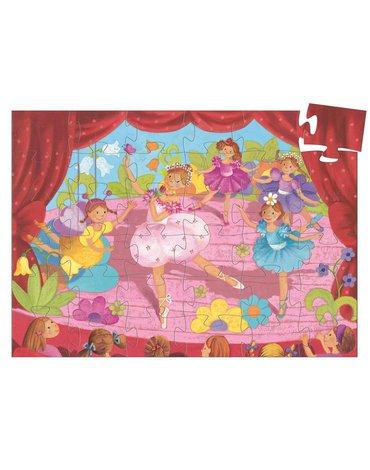 Djeco - Puzzle tekturowe BALETNICA 36 el.DJ07227