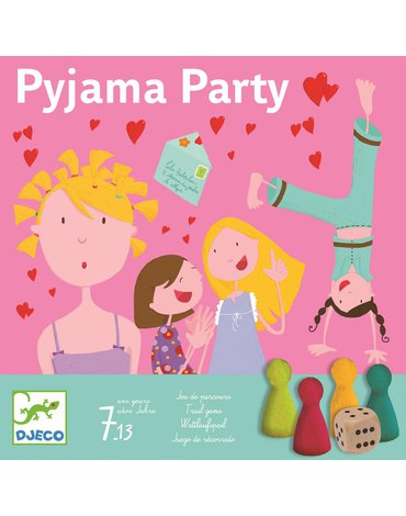 Djeco - Gra PIŻAMA PARTY DJ08448