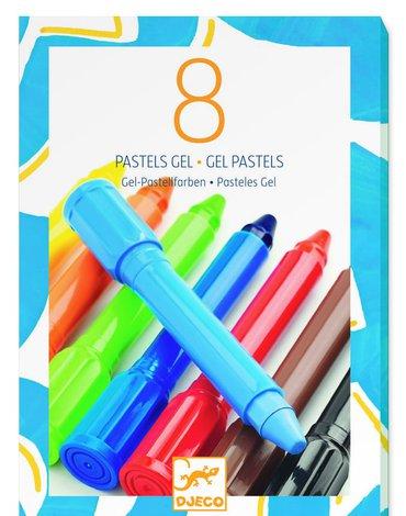 Djeco - Zestaw 8 żelowych pasteli klasycznych DJ08812
