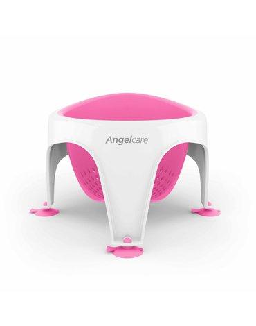 ABAKUS ANGELCARE - Krzesełko do kąpieli Angelcare; różowe