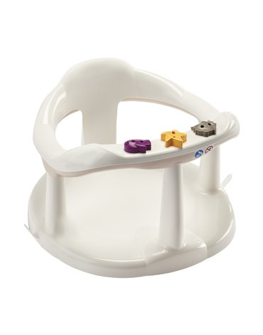 Krzesełko do kąpieli Thermobaby; białe