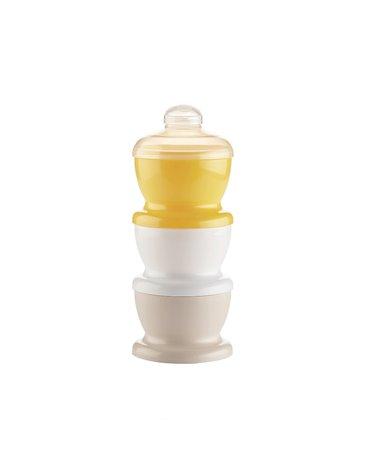 Pojemnik na mleko w proszku Thermobaby; żółty