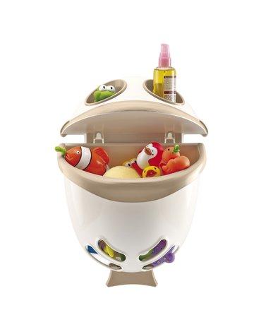 Pojemnik na zabawki do kąpieli Thermobaby; biały