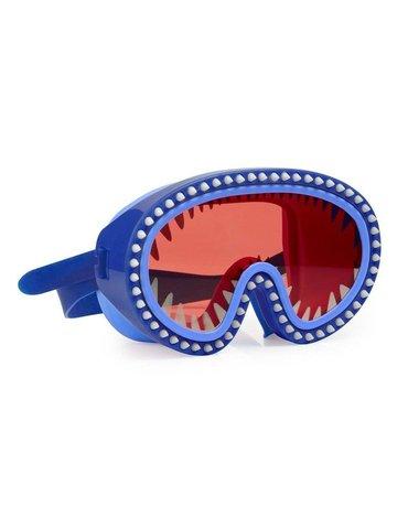 Maska do pływania Rekin, czerwone soczewki, Bling2O