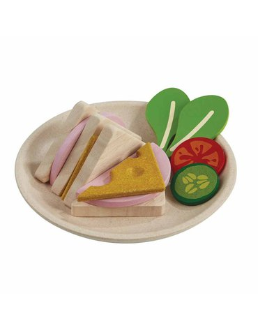 Trójkątne kanapki, Plan Toys