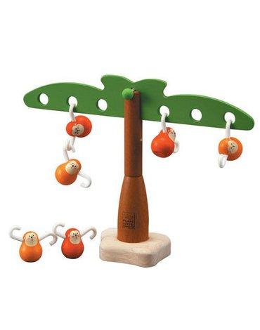 Zabawka zręcznościowa Balansujące małpki, Plan Toys