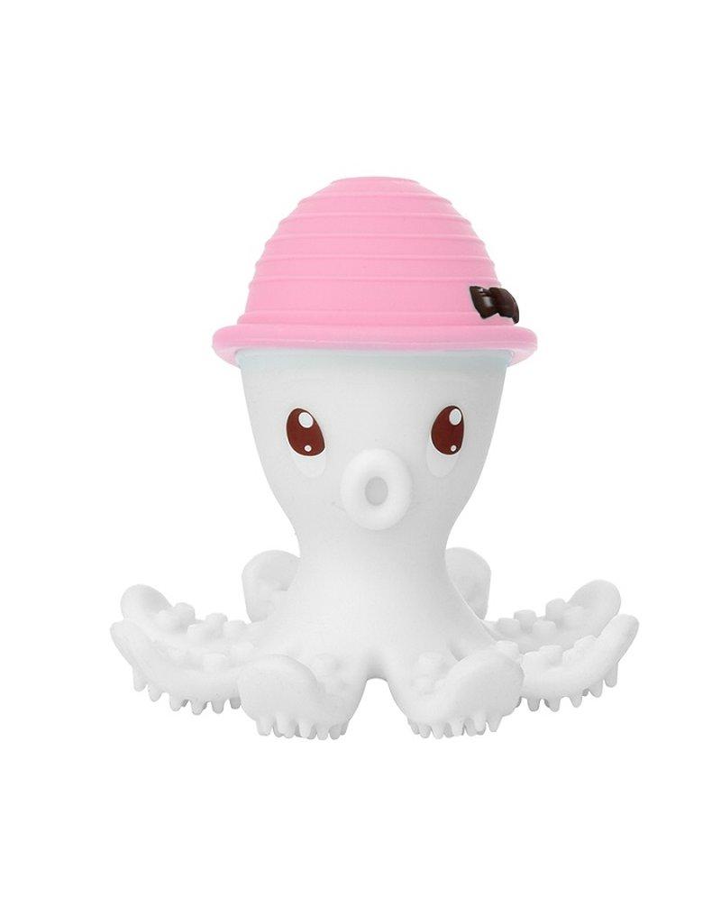 Mombella Gryzak Zabawka Ośmiornica Pink