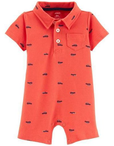 Carter's - Rampers Polo Auta - 68 cm