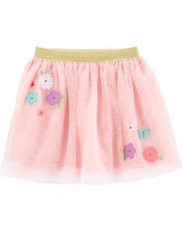 Carter's - Tiulowa spódniczka z kwiatkami - 98 cm