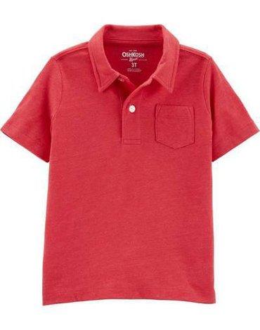 Carter's - Koszulka POLO czerwona - 110 cm
