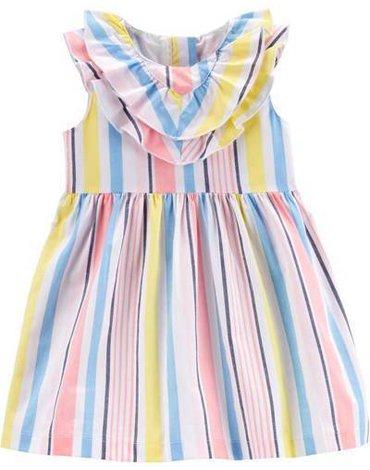 Carter's - Sukienka w paski bez rękawów - 76 cm