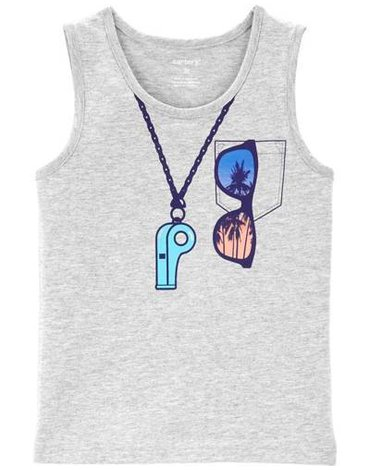 Carter's - Koszulka bez rękawów Ratownik - 92 cm