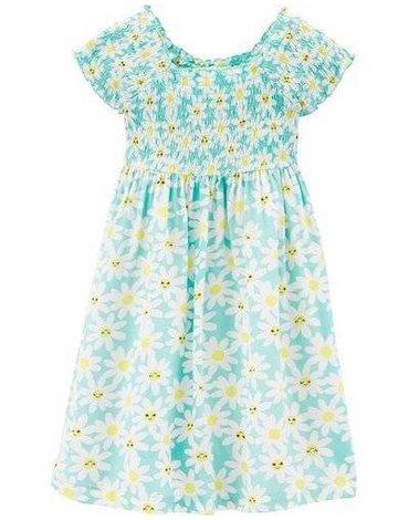 Carter's - Sukienka w Słoneczniki - 104 cm