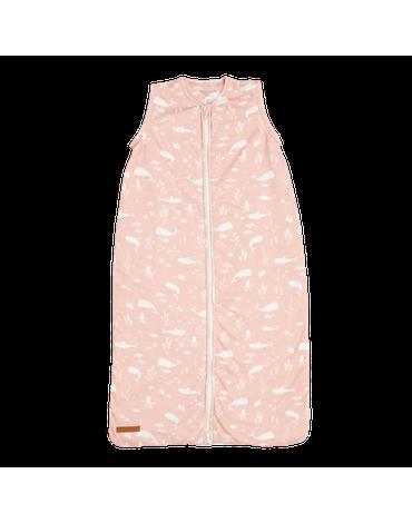 Little Dutch Lekki śpiworek bawełniany Ocean Pink 90 cm TE11420650