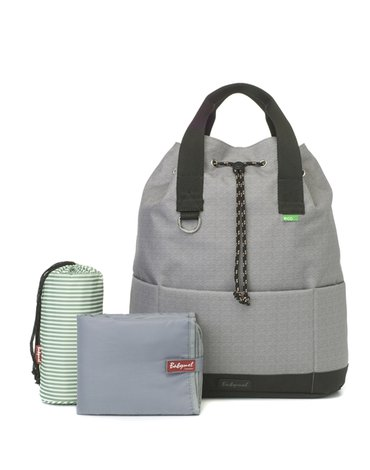 Babymel Eco Plecak dla Mamy Tap N Tail Gre