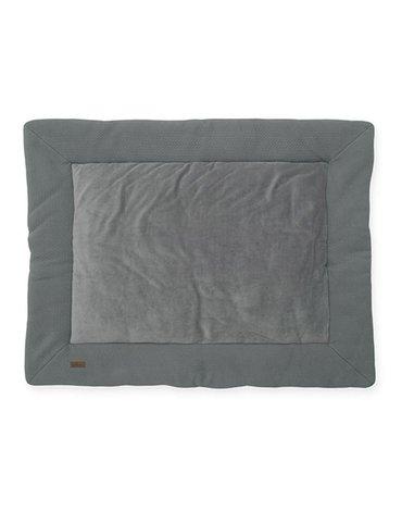 Jollein - Baby & Kids - Jollein - Mata do zabawy 80 x 100 cm Brick Velvet Storm Grey