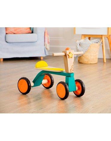 B.Toys  - B.Toys, Drewniany rowerek biegowy – Smooth Rider, Wersja do Samodzielnego Montażu, 18 m-cy+
